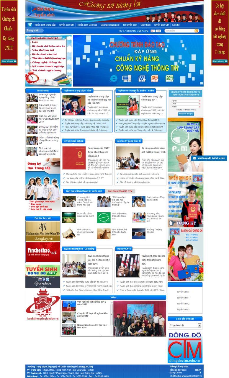www.kenhthongtintuyensinh.vn